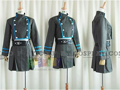 Kuromu Dokuro Uniform Costume from Katekyo Hitman Reborn!