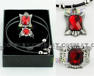 Kuroshitsuji Ring and Necklace Set