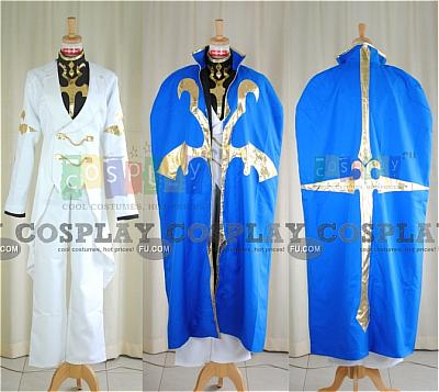 Suzaku Cosplay (Uniform) from Code Geass