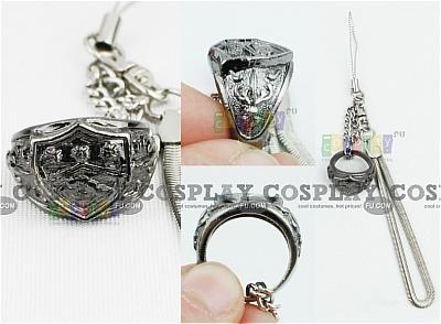 Kyoya Ring (Cell Phone Accessory) from Katekyo Hitman Reborn