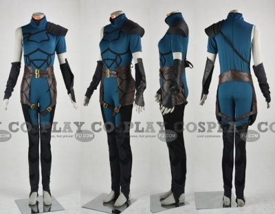 Lancer Cosplay from Fate Zero