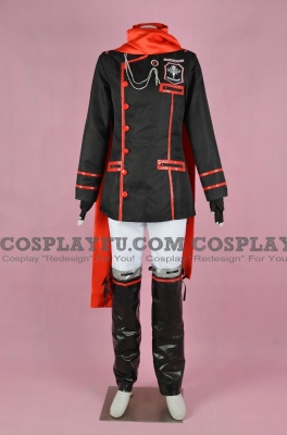 Lavi Cosplay Costume 3rd Uniform from D.Gray-Man