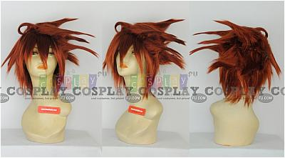 Lavi Cosplay Wig from D.Gray-Man
