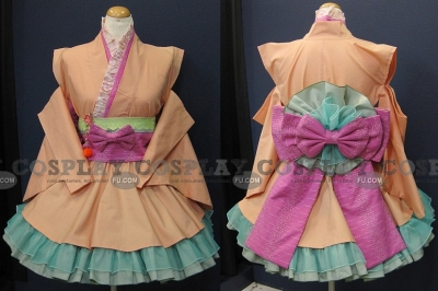 Ranka Cosplay (Orange) from Macross Frontier