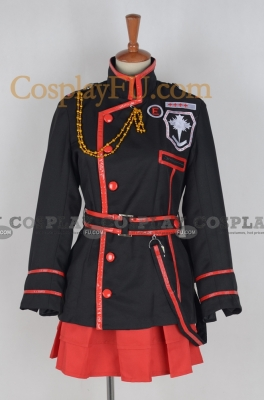 Lenalee 3rd Uniform Costume from D.Gray-Man