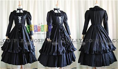 Lenalee Princess Dress from D.Gray-Man