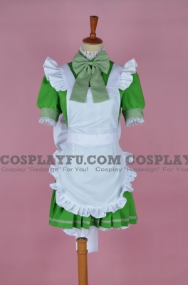 Lettuce Costume from Tokyo Mew Mew