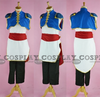 Li Xingke Cosplay from Code Geass