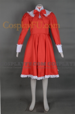 Liechtenstein Costume (Red) from Axis Powers Hetalia