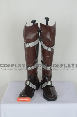 Lightning Shoes (A085 Brown) from Final Fantasy XIII