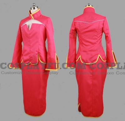 Liu Mei Cosplay from Mobile Suit Gundam 00