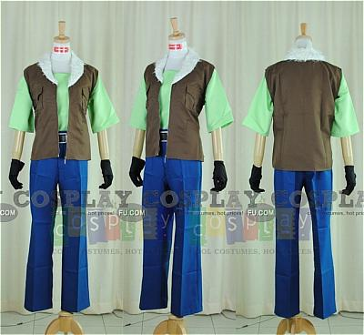 Lockon Cosplay (Casual Wear) from Gundam 00
