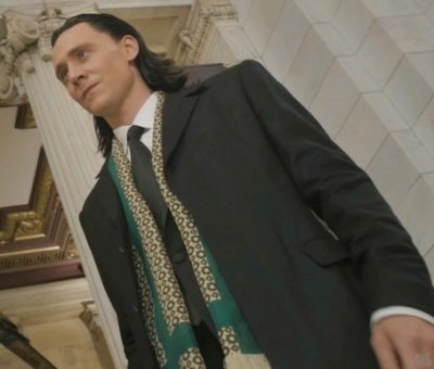 Loki Costume from The Avengers