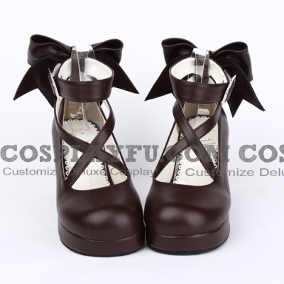 Lolita Shoes (Brown 8280)