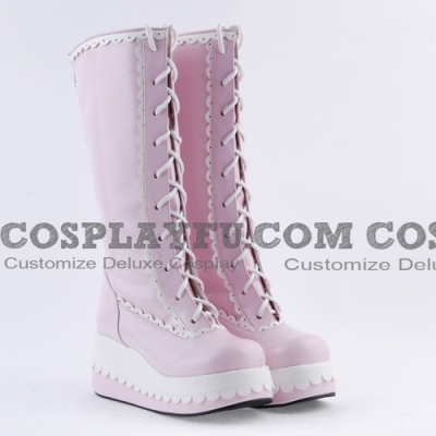 Lolita Shoes (Pink 8179)