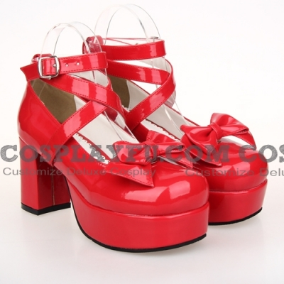 Lolita Shoes (Red 9812)
