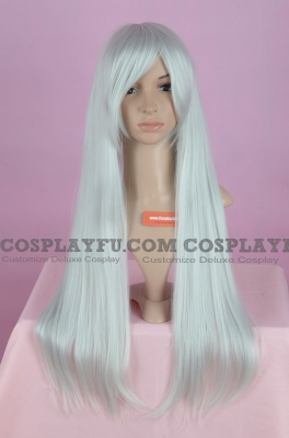 Long Wig (White,Straight,Suigintou CF08)