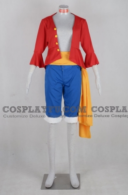 Luffy Cosplay (A168) from One Piece