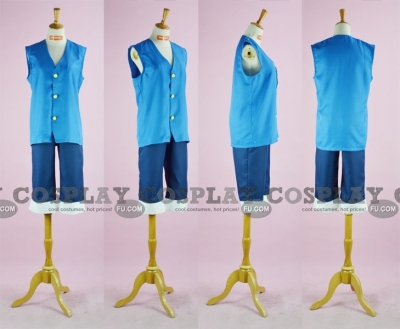 Luffy Cosplay (Blue 10-034) from One Piece