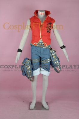 Luffy Cosplay (Game,version 2) from One Piece
