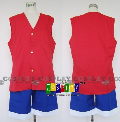 Luffy Cosplay (Vest) from One Piece