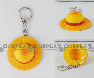 Luffy Hat (Key Ring) from One Piece