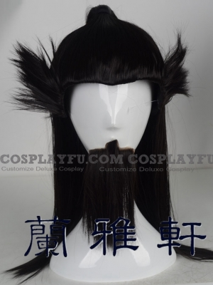 Cao Cao Wig from Dynasty Warriors