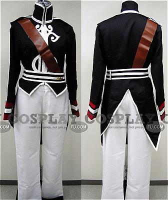 Luke Costume (Black) from Tales of the Abyss