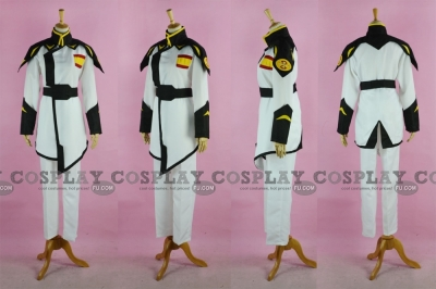 Rau Le Cosplay (Lyzak Uniform) from Gundam Seed