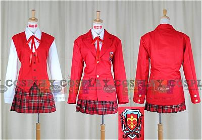 Asuna Cosplay (Mahora Girls' Jr. High School Uniform) from Magister Negi Magi
