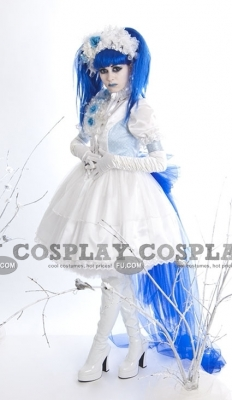 Mana Cosplay (White Dress) from Malice