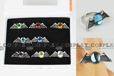 Mare Rings (Set) from Katekyo Hitman Reborn