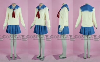 Mariko Cosplay (Winter Uniform) from Girl Friends