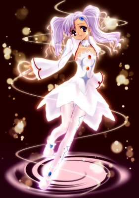 Meredy Cosplay (White) from Tales of Eternia