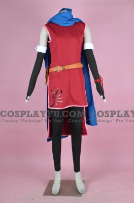 Micaiah Cosplay (Red) from Fire Emblem Radiant Dawn