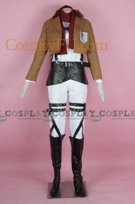 Mikasa Cosplay (Recon Corps) from Attack on Titan