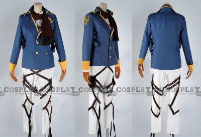 Mikasa Costume (Blue Ver) from Attack On Titan