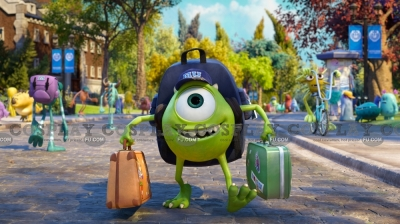 Mike Cosplay from Monsters University