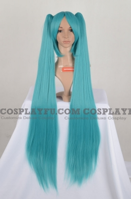 Miku Blue Green Separate Cosplay Wig from Vocaloid