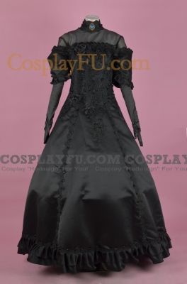 Miku Cosplay (Black) from  Vocaloid