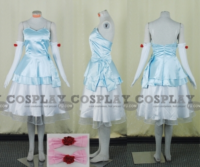 Miku Cosplay (Cinderella) from Vocaloid