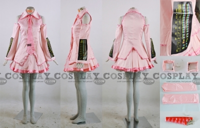 Miku Cosplay (Sakura 027-C35) from Vocaloid
