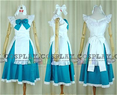 Miku Cosplay (Alice Human Sacrifice) from Vocaloid