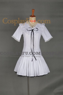 Miku Cosplay Costume from Vocaloid Doujinshi: World is Mine