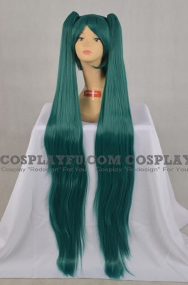 Miku Cosplay Wig Separate from Vocaloid