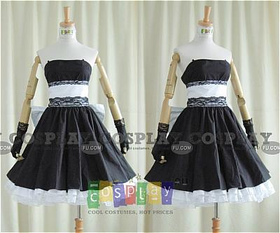 Miku Hatsune Cosplay Costume from Vocaloid Doujinshi: Magnet