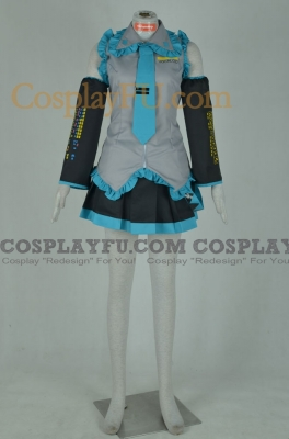 Miku Cosplay from Vocaloid
