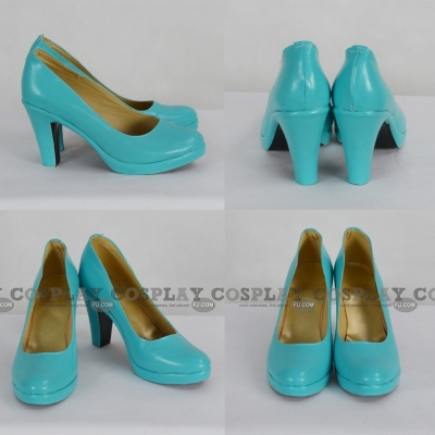 Miku Shoes (1537) from Vocaloid