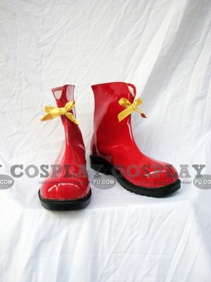 Miku Shoes (Red) from Vocaloid