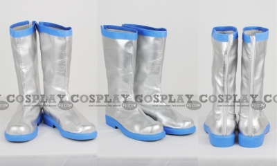 Miku Shoes (Snow) from Vocaloid